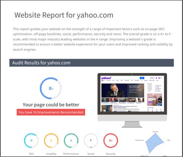 free-website-seo-report